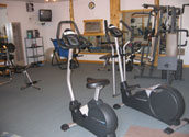 Balsam Beach, Bemidji, MN, provides guests with access to a fitness center.